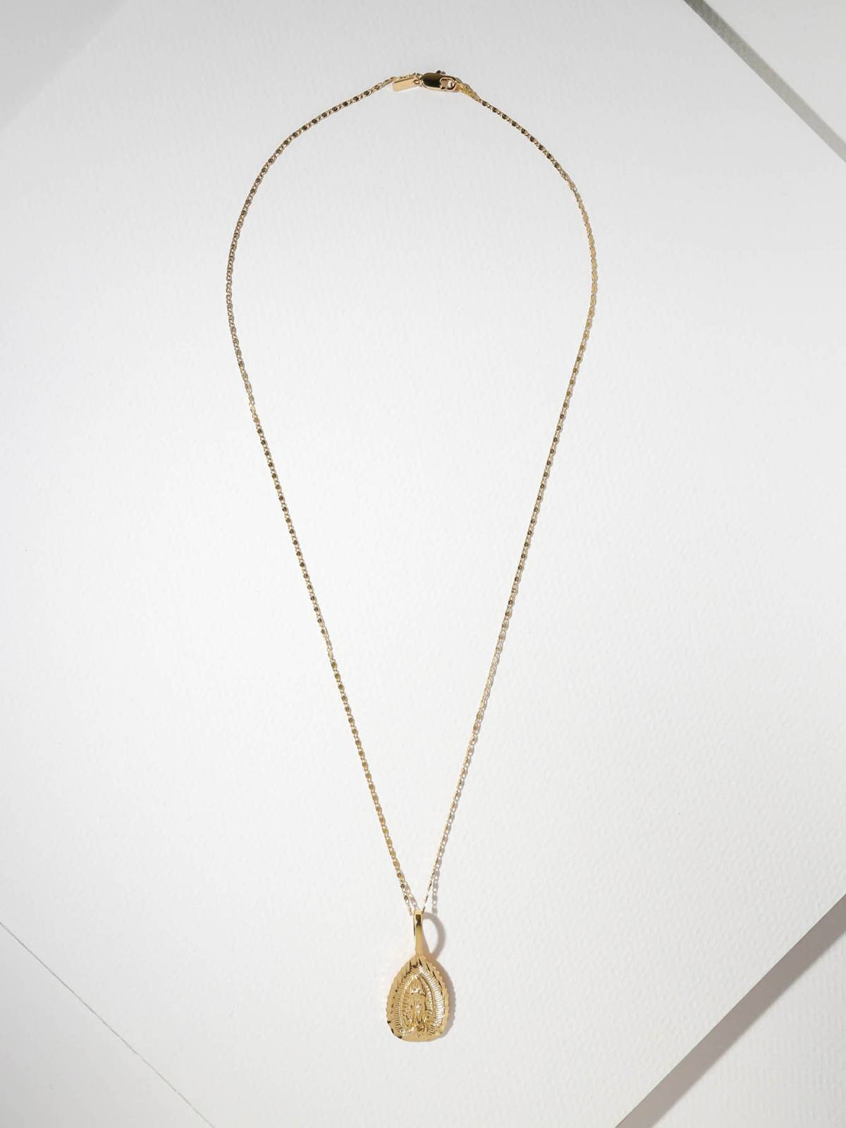 Sale Items The Saint Mary Gold Necklace Vanessa Mooney