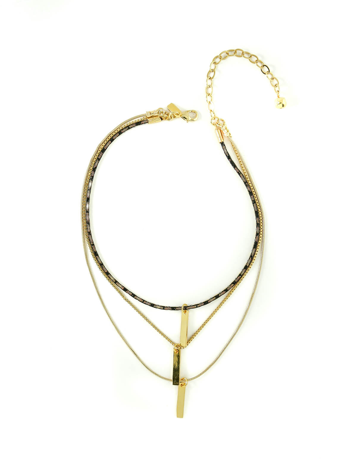 The Snake Chain Layered Necklace