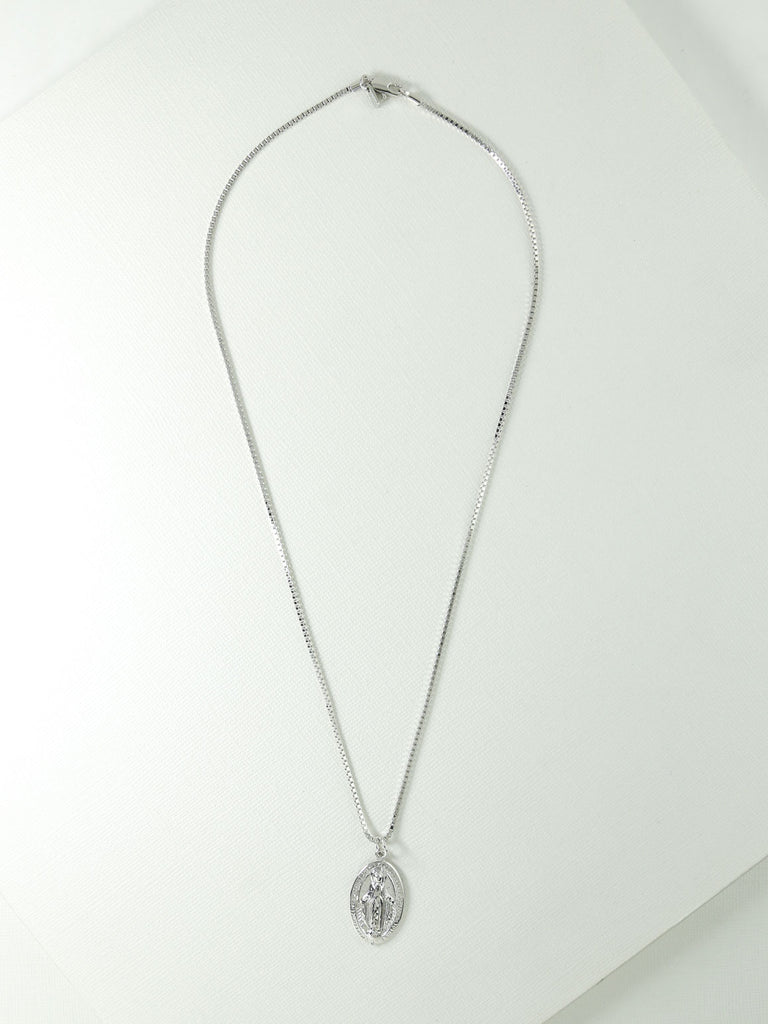 The Dallas Necklace Silver