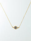 Necklaces The Little Evil Eye Necklace Vanessa Mooney