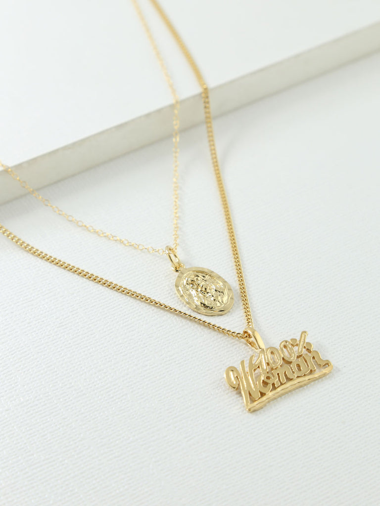 The 100% Woman Necklace