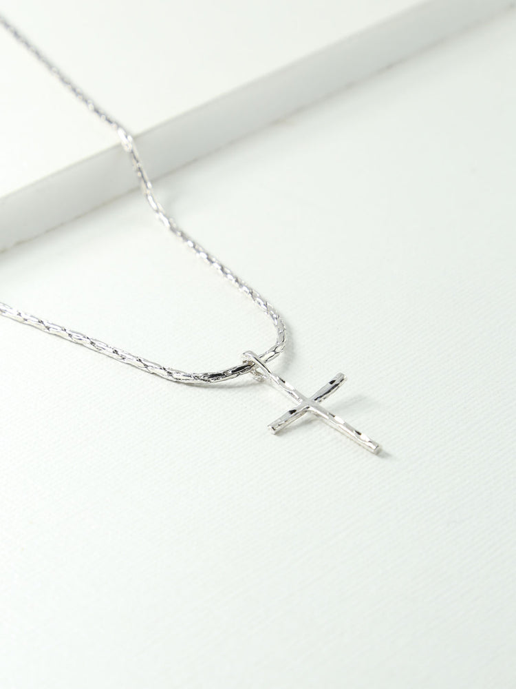 The Flynn Cross Necklace