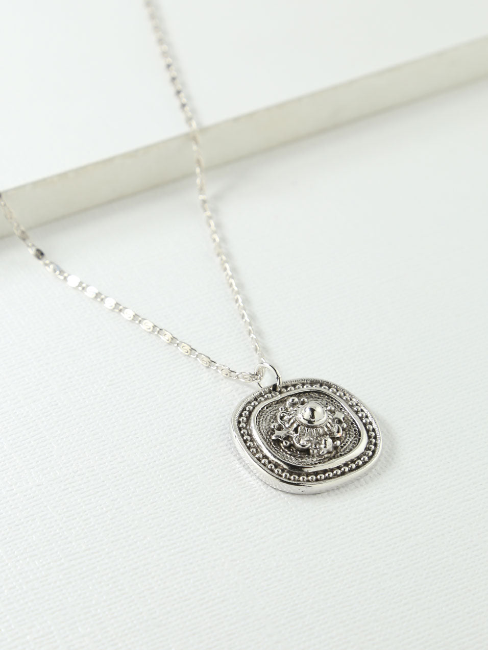 The Harlow Necklace Silver