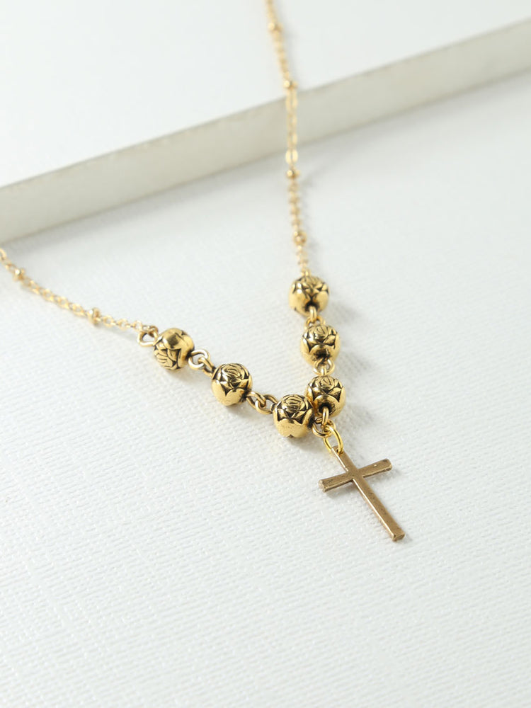 The Celine Cross Necklace