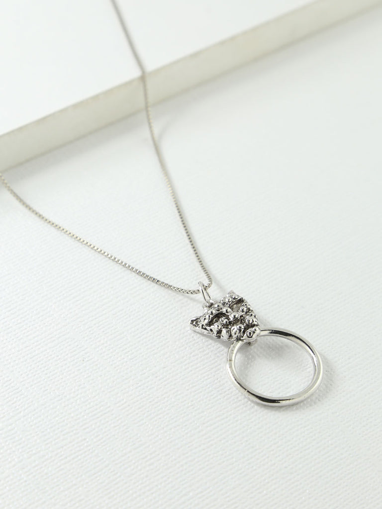 The Panther Necklace Silver