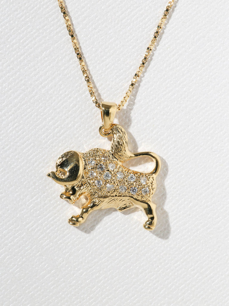 The Star Sign Necklaces Taurus-Leo