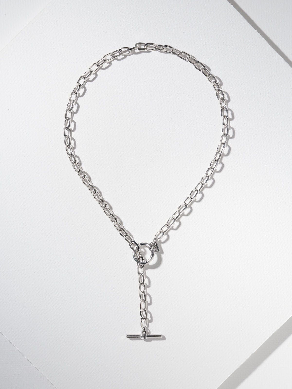 The Eternal Toggle Chain Necklace Silver