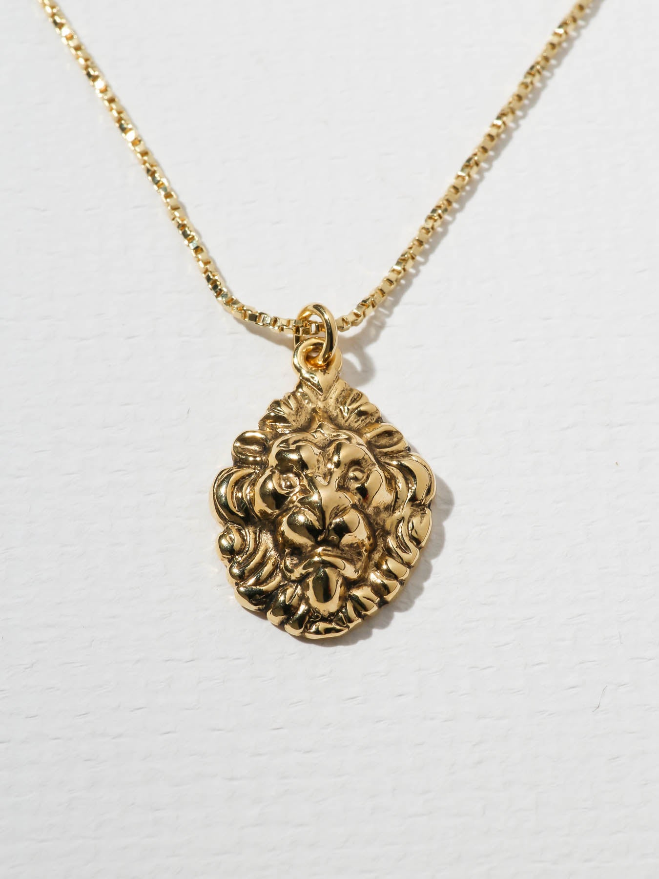 Necklaces The Royals Lion Pendant Necklace Vanessa Mooney