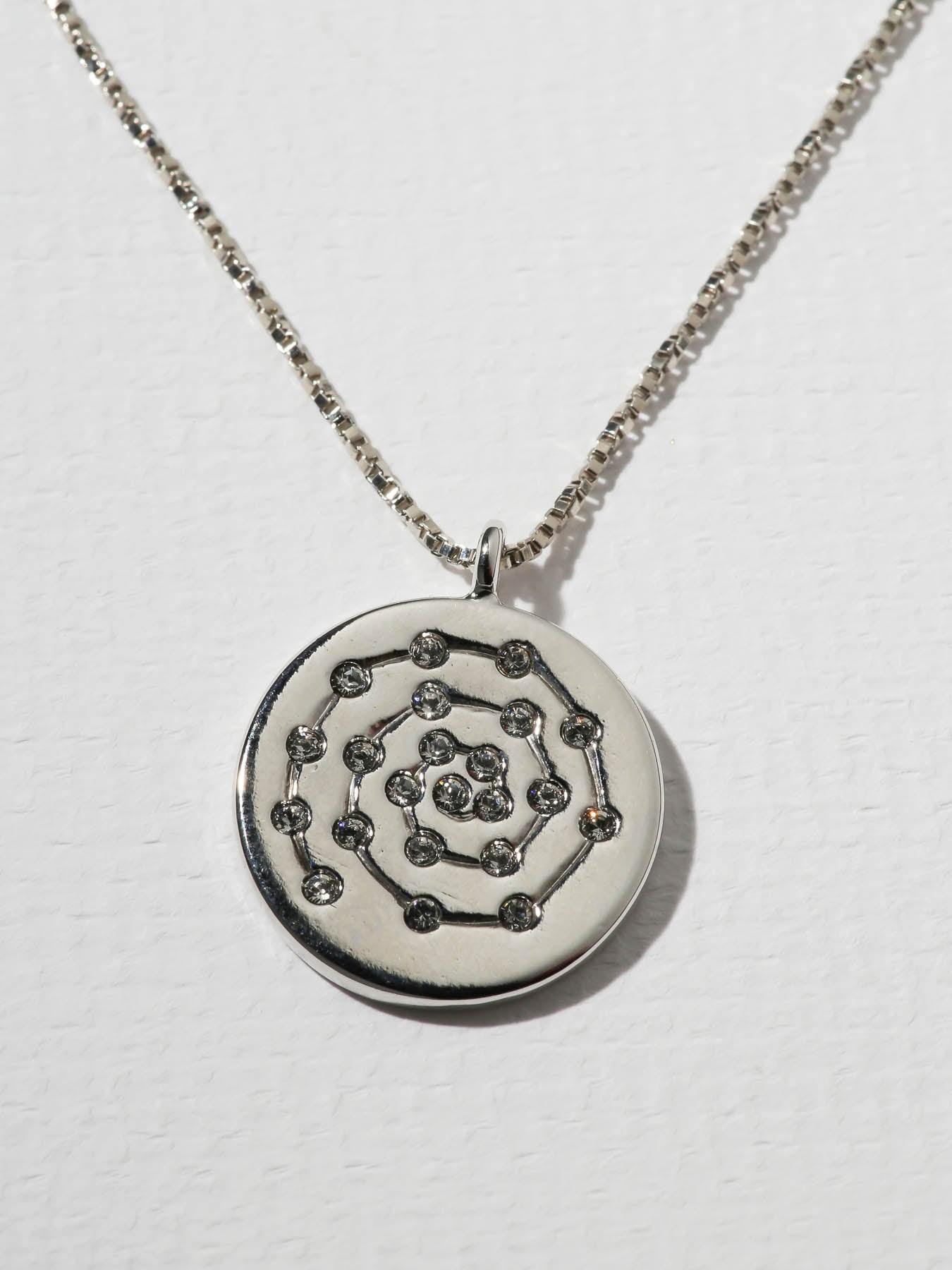 The Divine Necklace Silver by Vanessa Mooney
