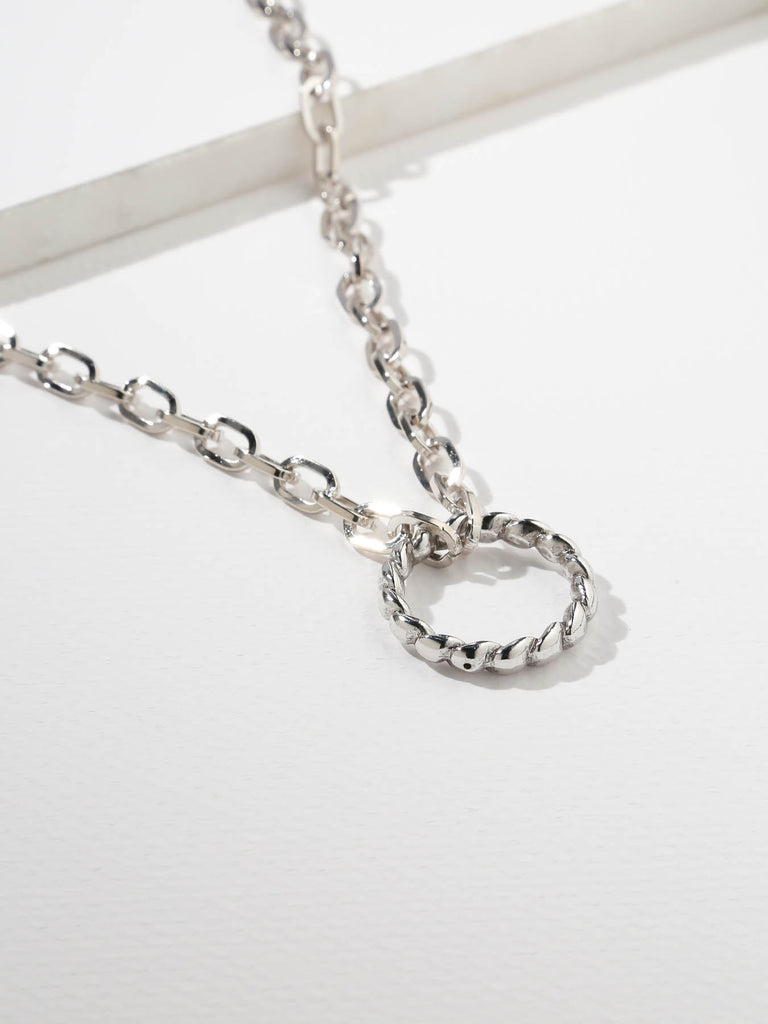 The Sublime Necklace Silver