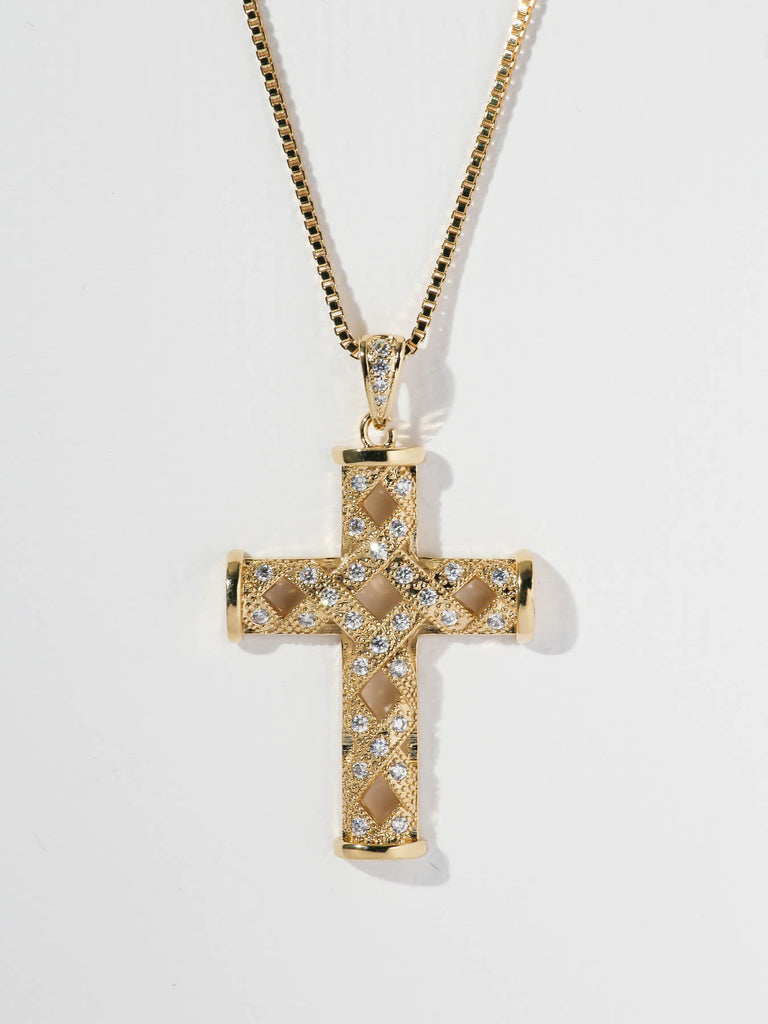 The Alfie Cross Necklace