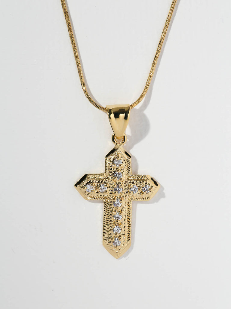 The Anais Cross Necklace