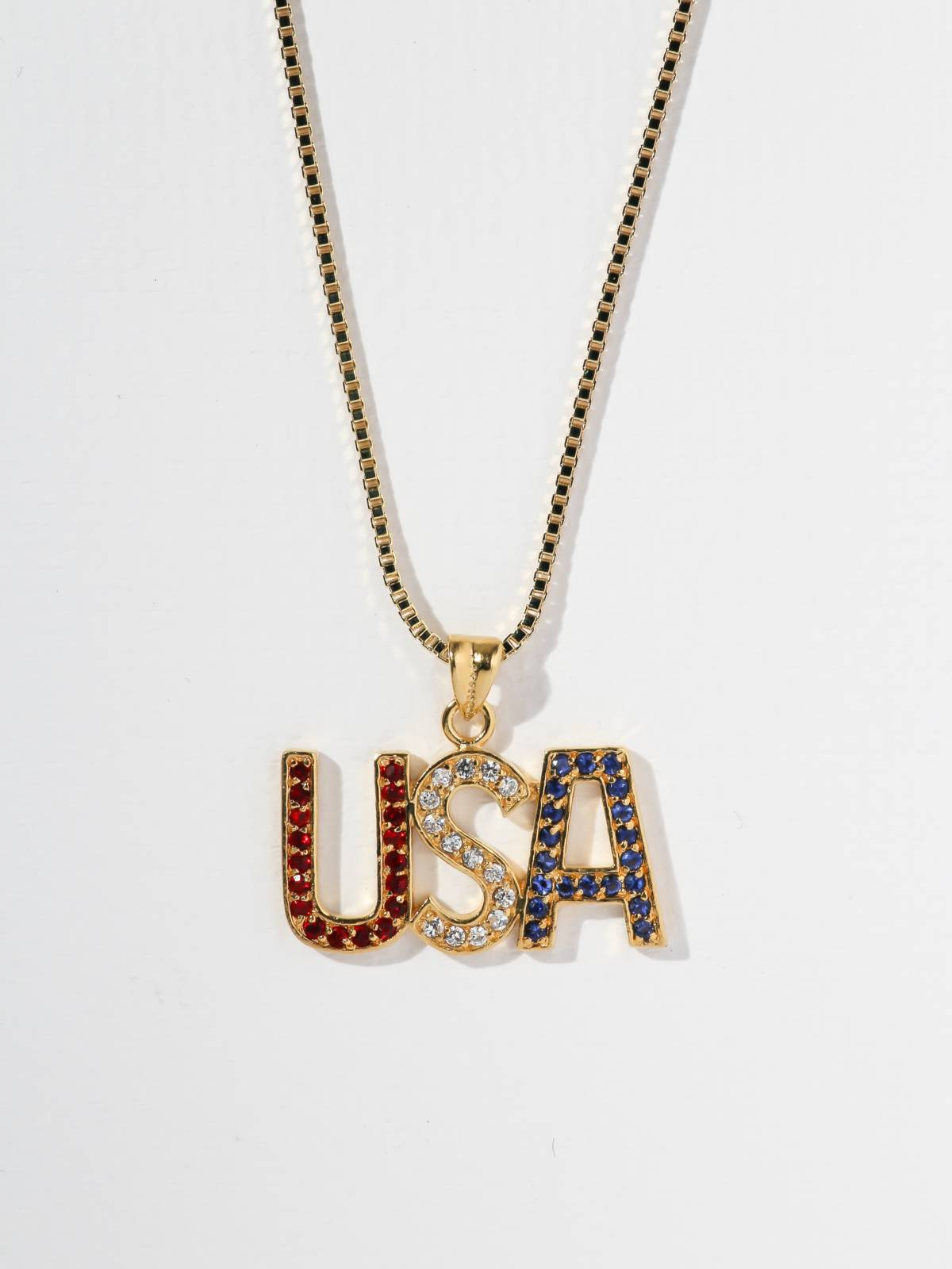The USA Necklace