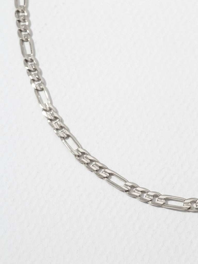Necklaces The Rhyme Chain Silver Vanessa Mooney