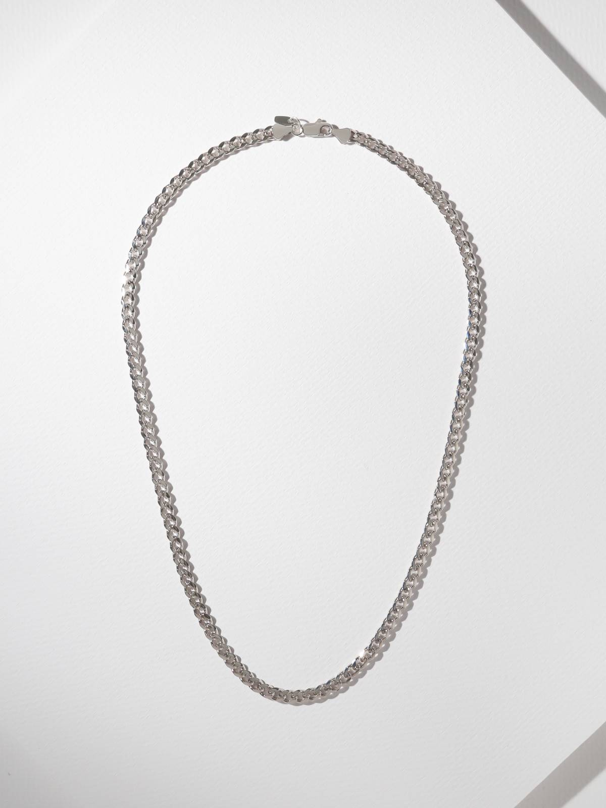 Necklaces The Groove Chain Silver Vanessa Mooney