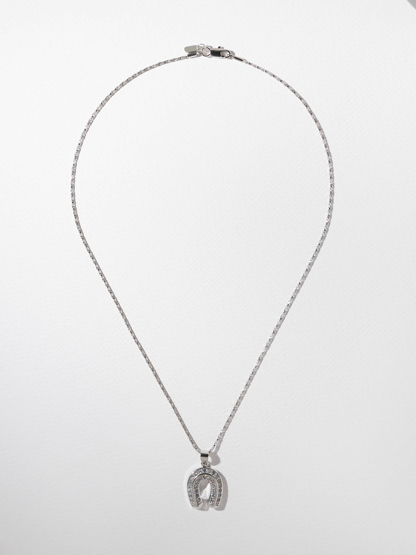 The Superstitious Necklace - Silver