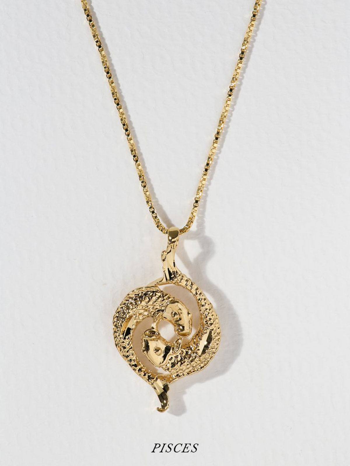 Necklaces The Zodiac Sign Necklaces: Capricorn - Aries Vanessa Mooney