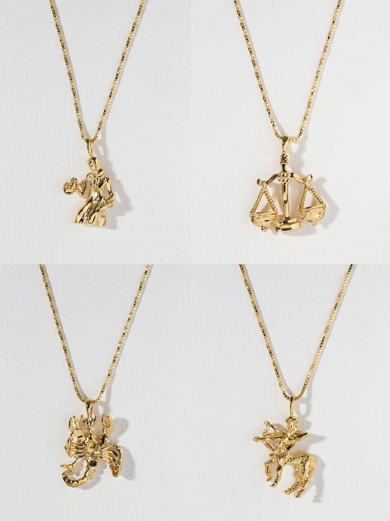 The Zodiac Sign Necklaces VIRGO-SAGITTARIUS