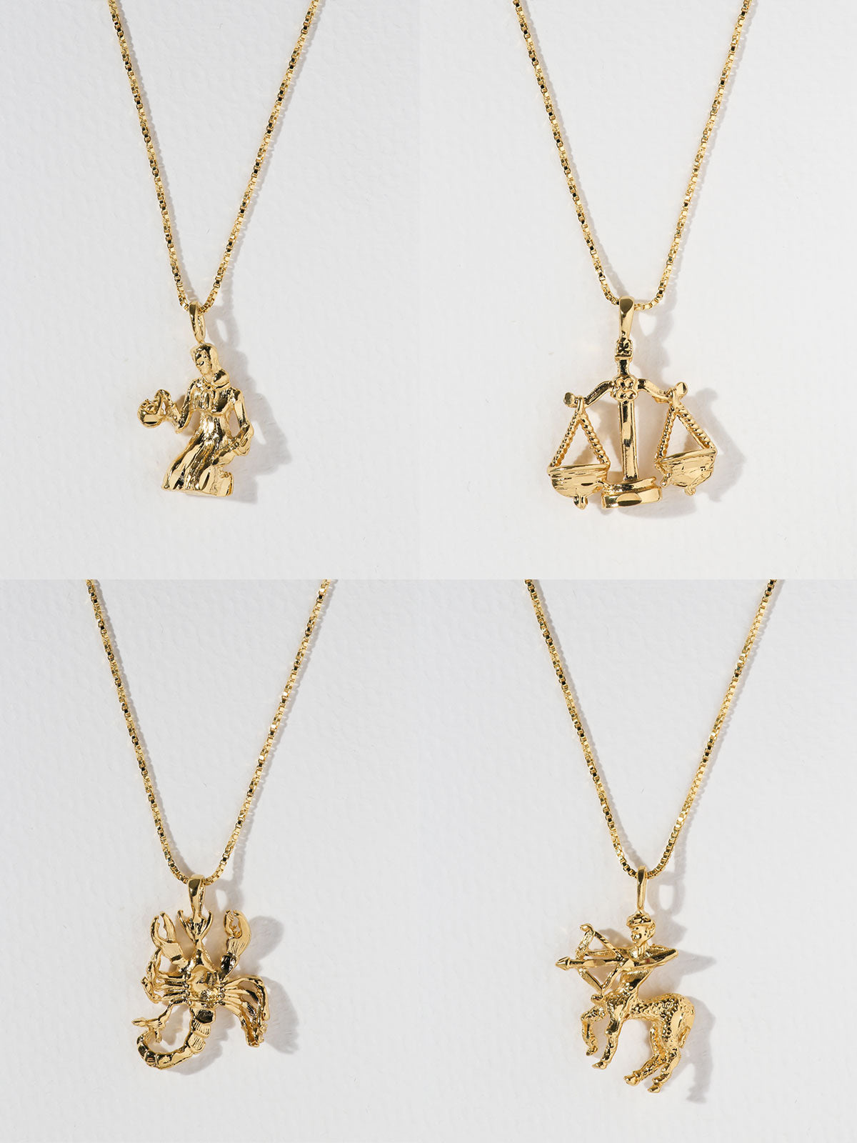 Necklaces The Zodiac Sign Necklaces: Virgo - Sagittarius Vanessa Mooney