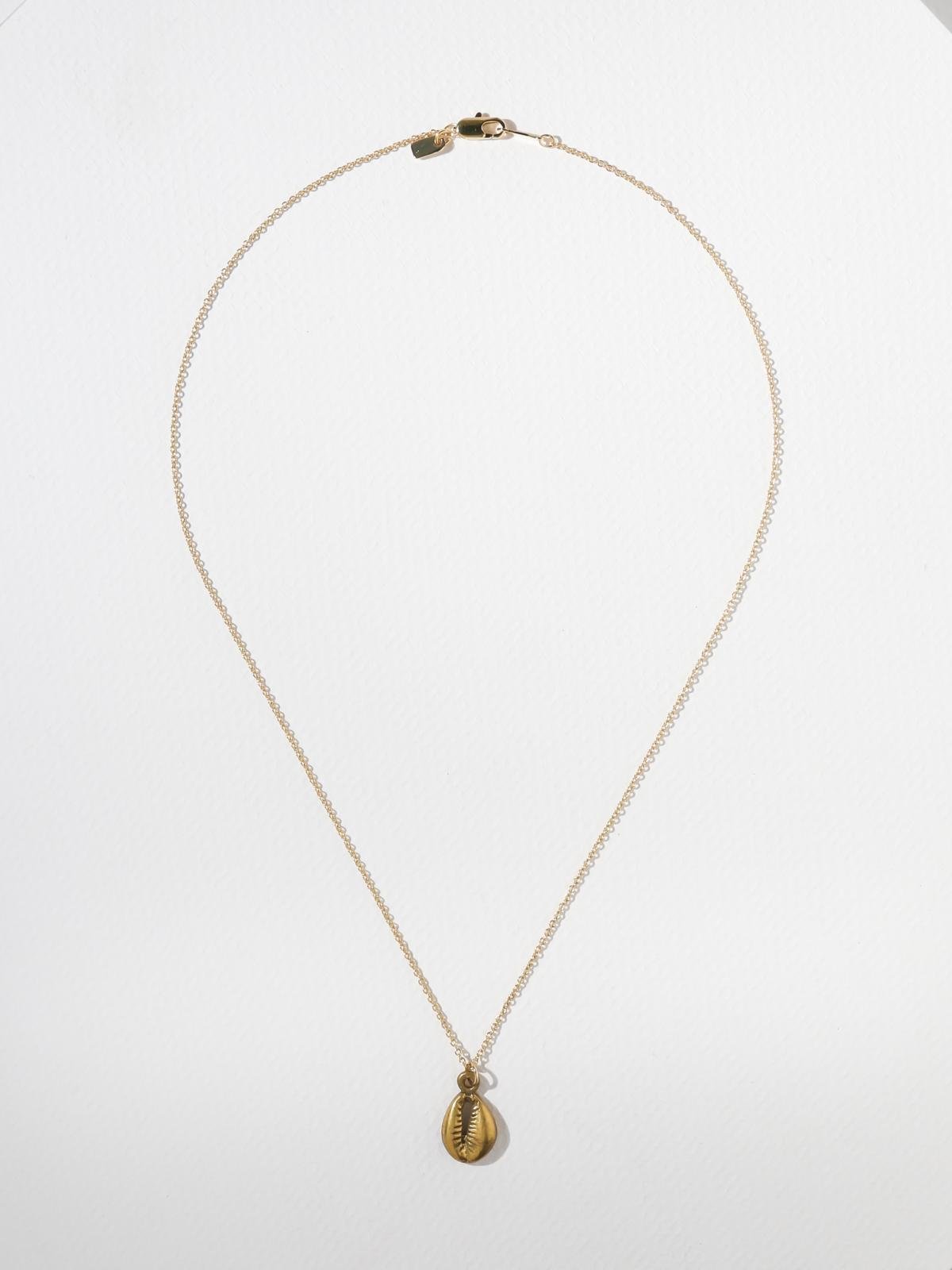 The Rockaway Necklace Brass
