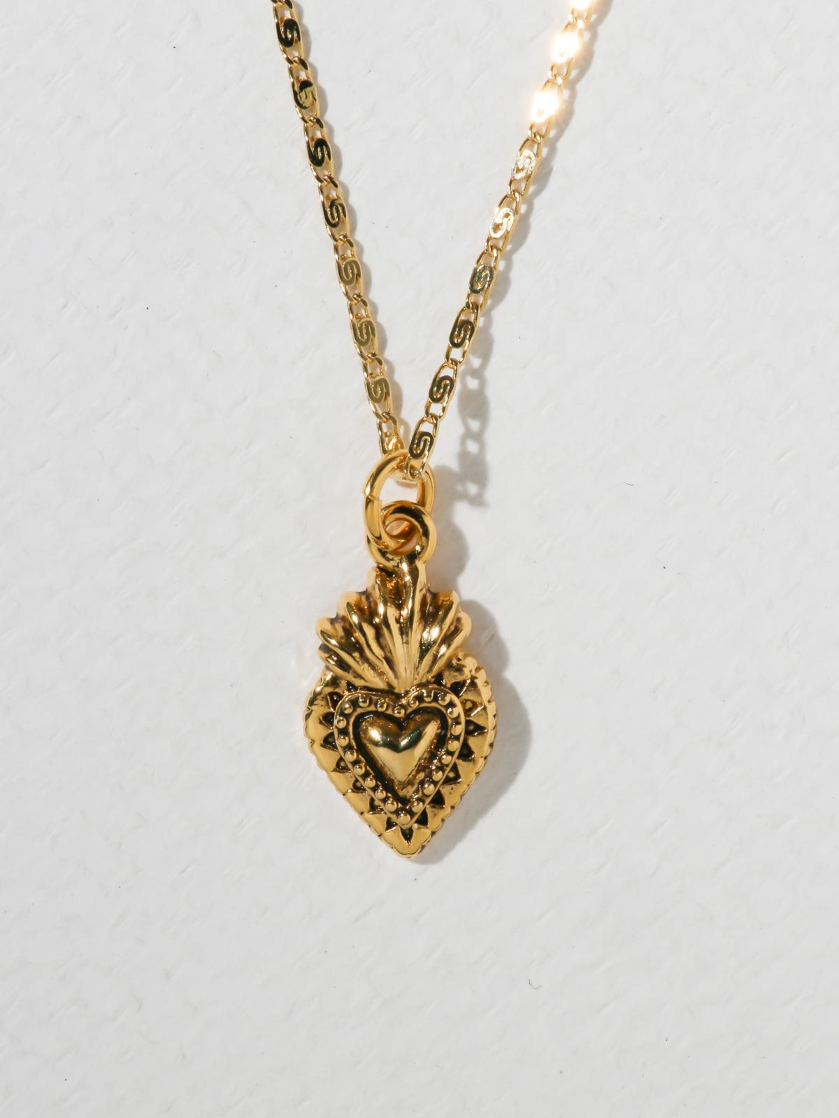 The Sacred Heart Necklace