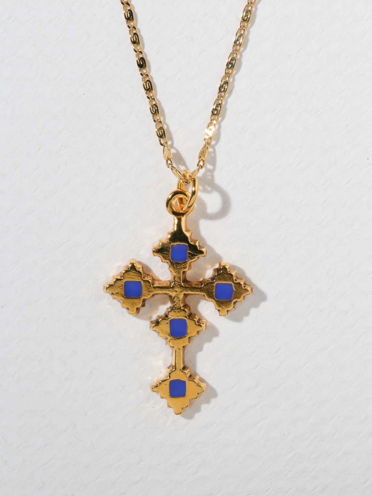 The Paradise Cross Necklace