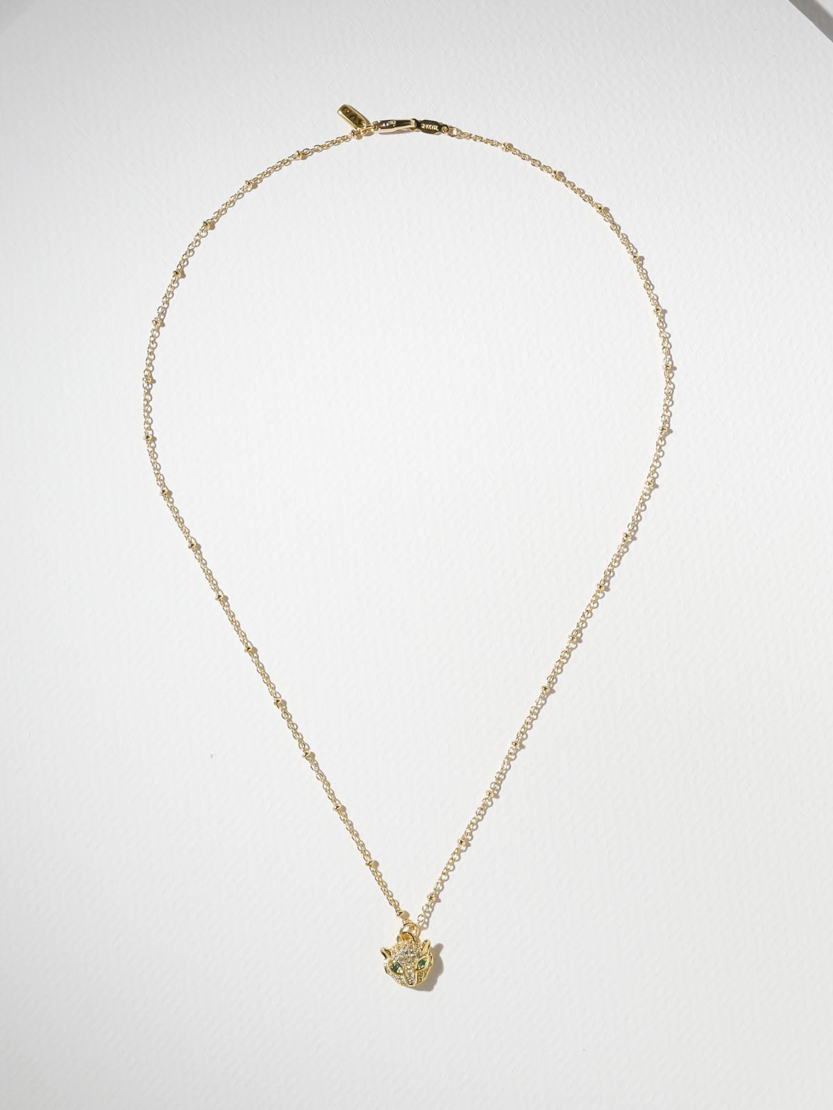 The Feline Necklace - Gold