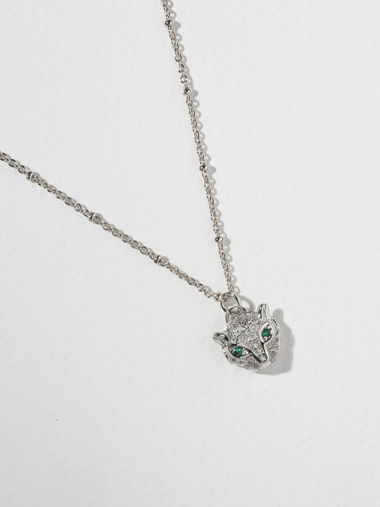 The Feline Necklace - Silver