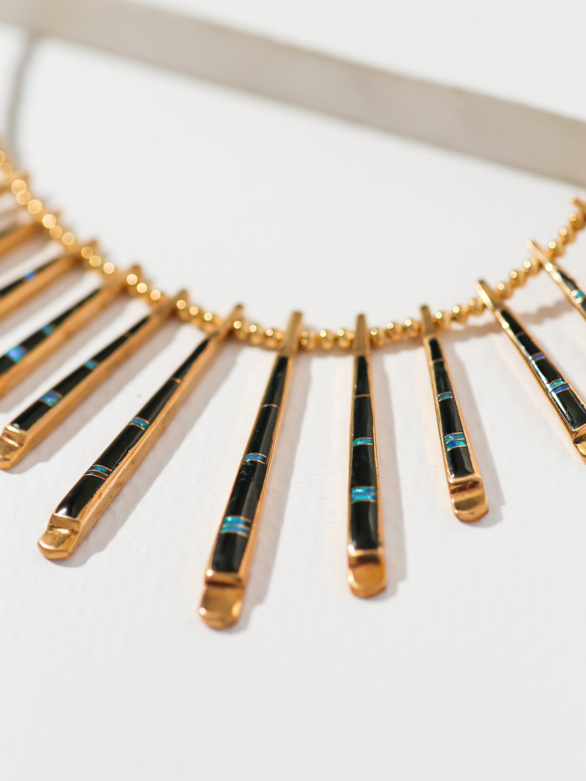 The Nevada Necklace - Onyx