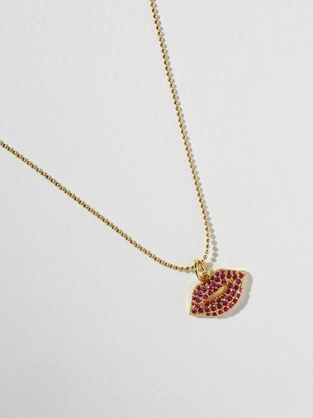 The Pink Kiss Necklace