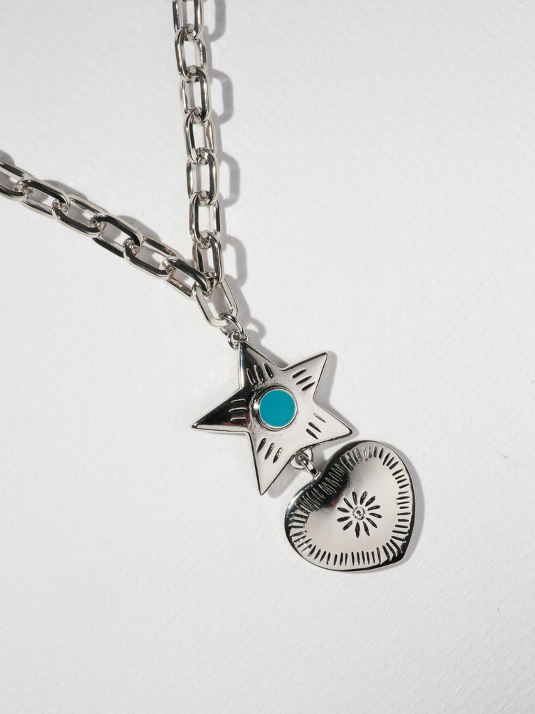 The Lonestar Necklace -  Silver