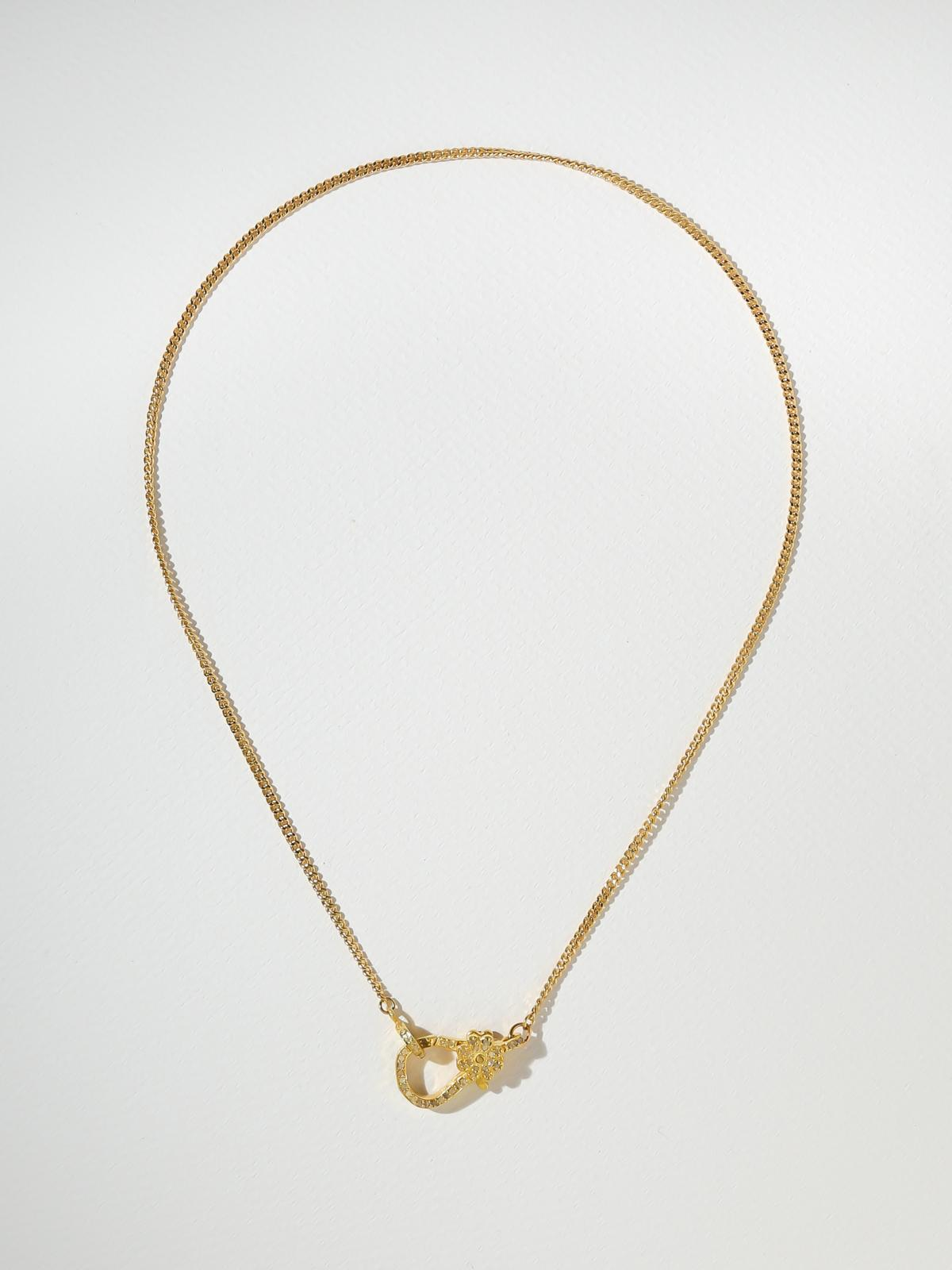 The Diamond Clasp Necklace