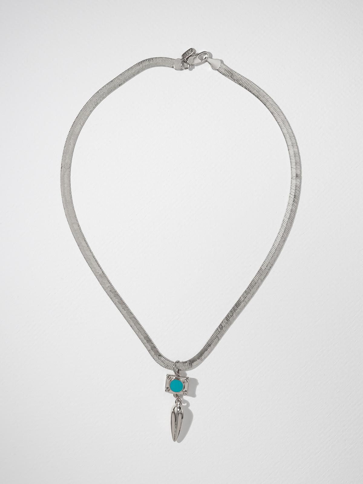 The Claudette Necklace - Silver