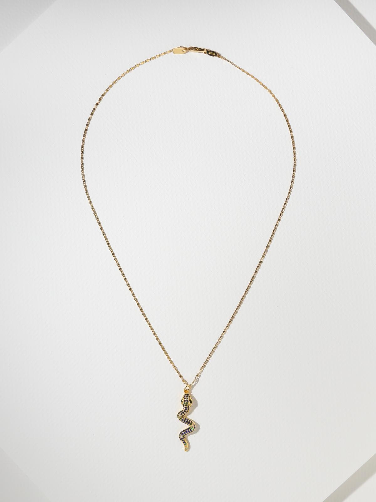 The Hedy Snake Necklace