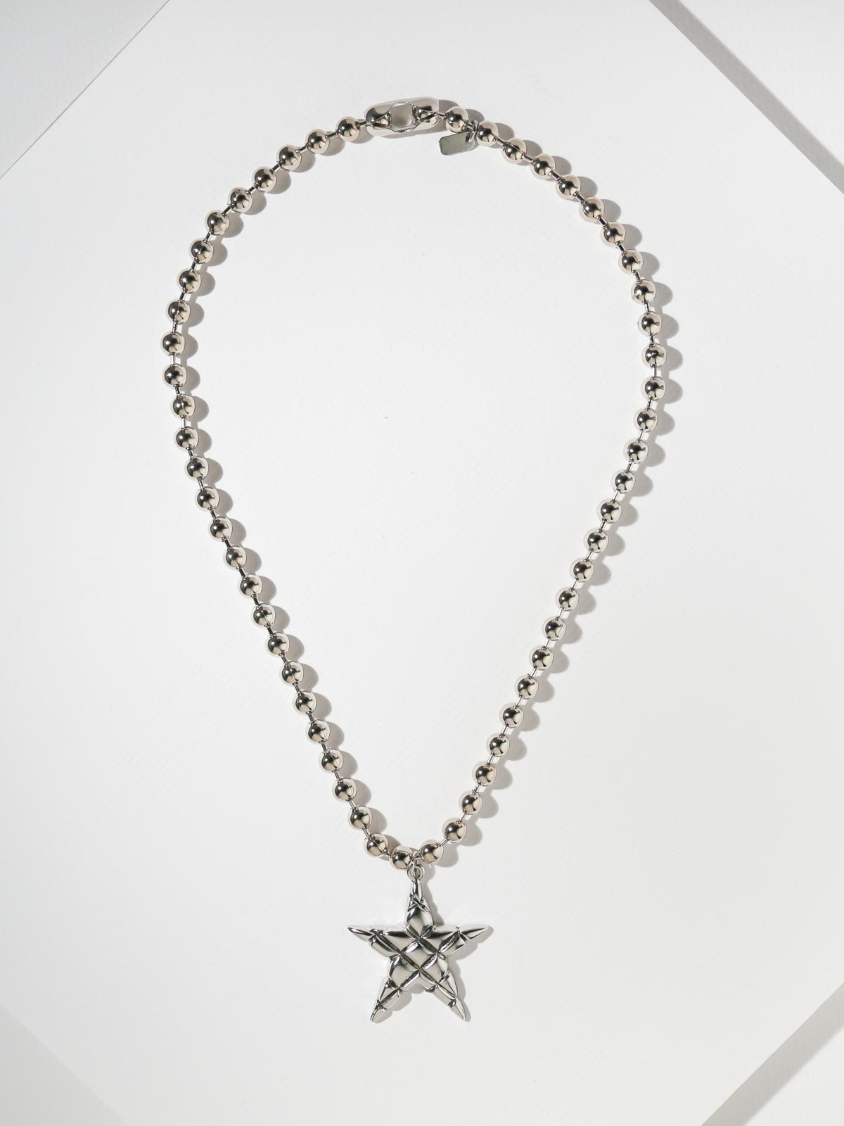 Sale Items SAMPLE: The Astrid Necklace - Silver Vanessa Mooney