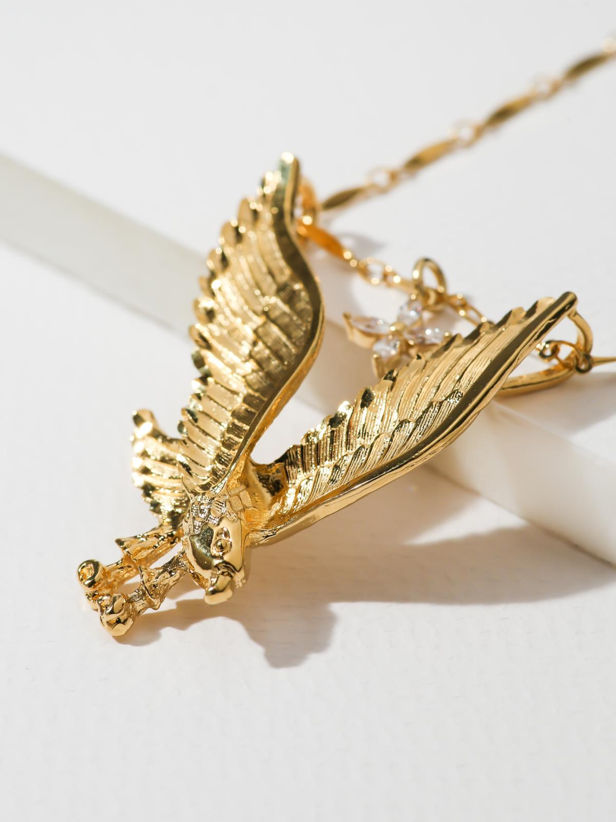 The Lynx Eagle & Star Necklace