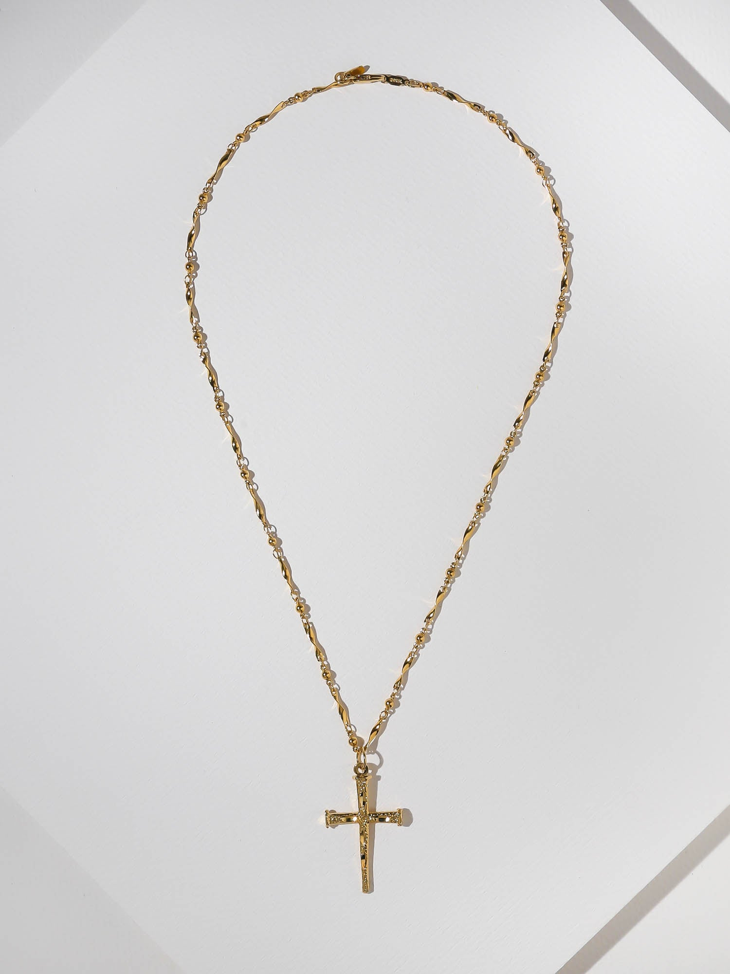 The Aria Cross Necklace