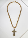 The Nisha Cross Necklace