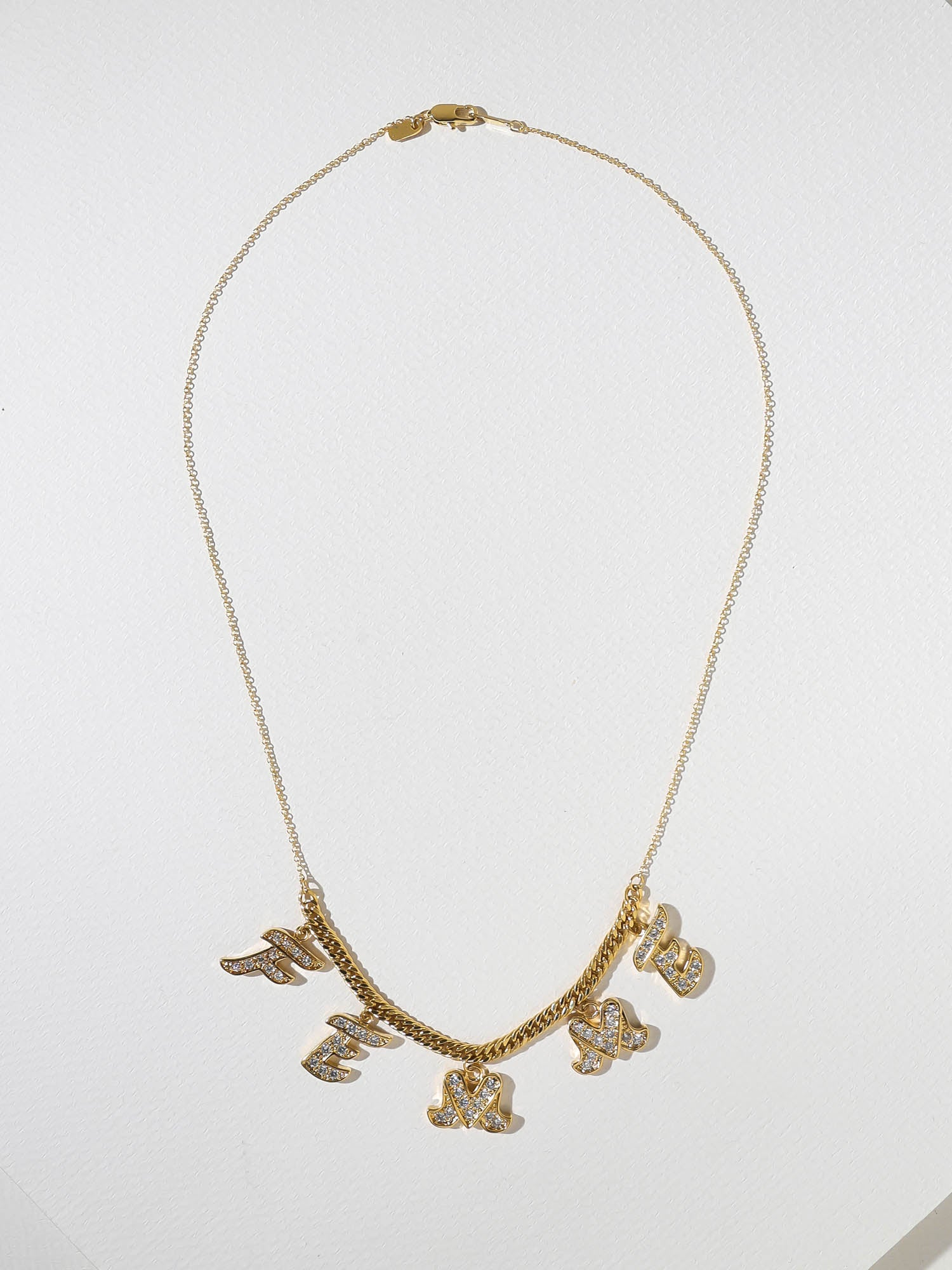 The Feminine Necklace