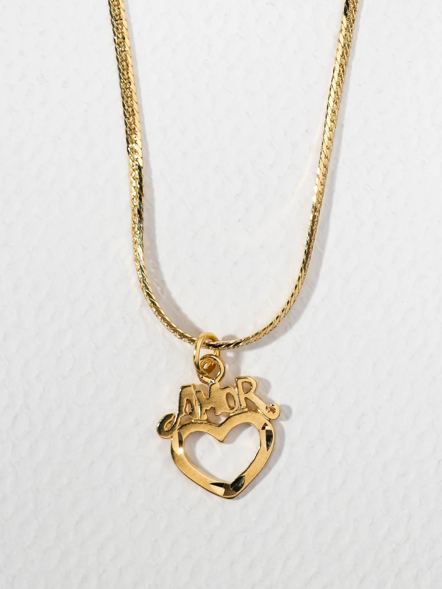 The Amor Heart Necklace