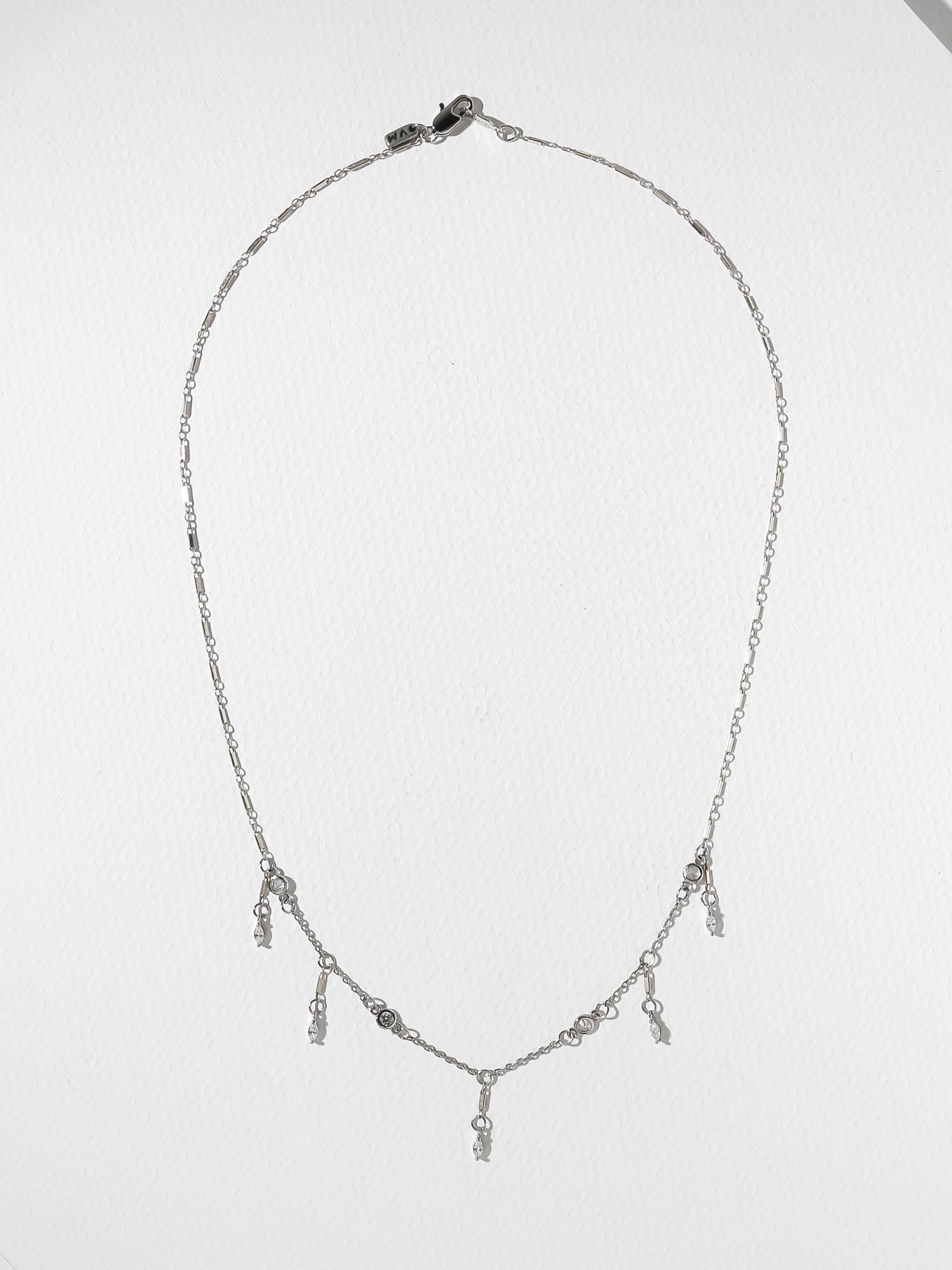 The Tiana Necklace - Silver