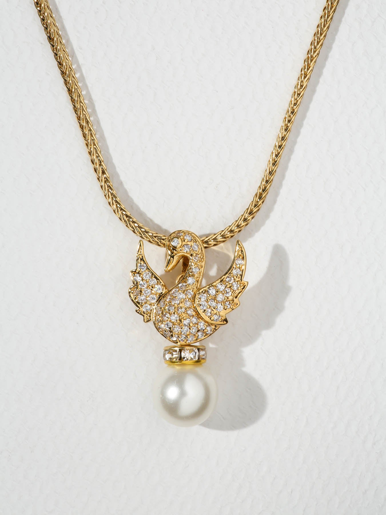 The Sweet Swan Necklace