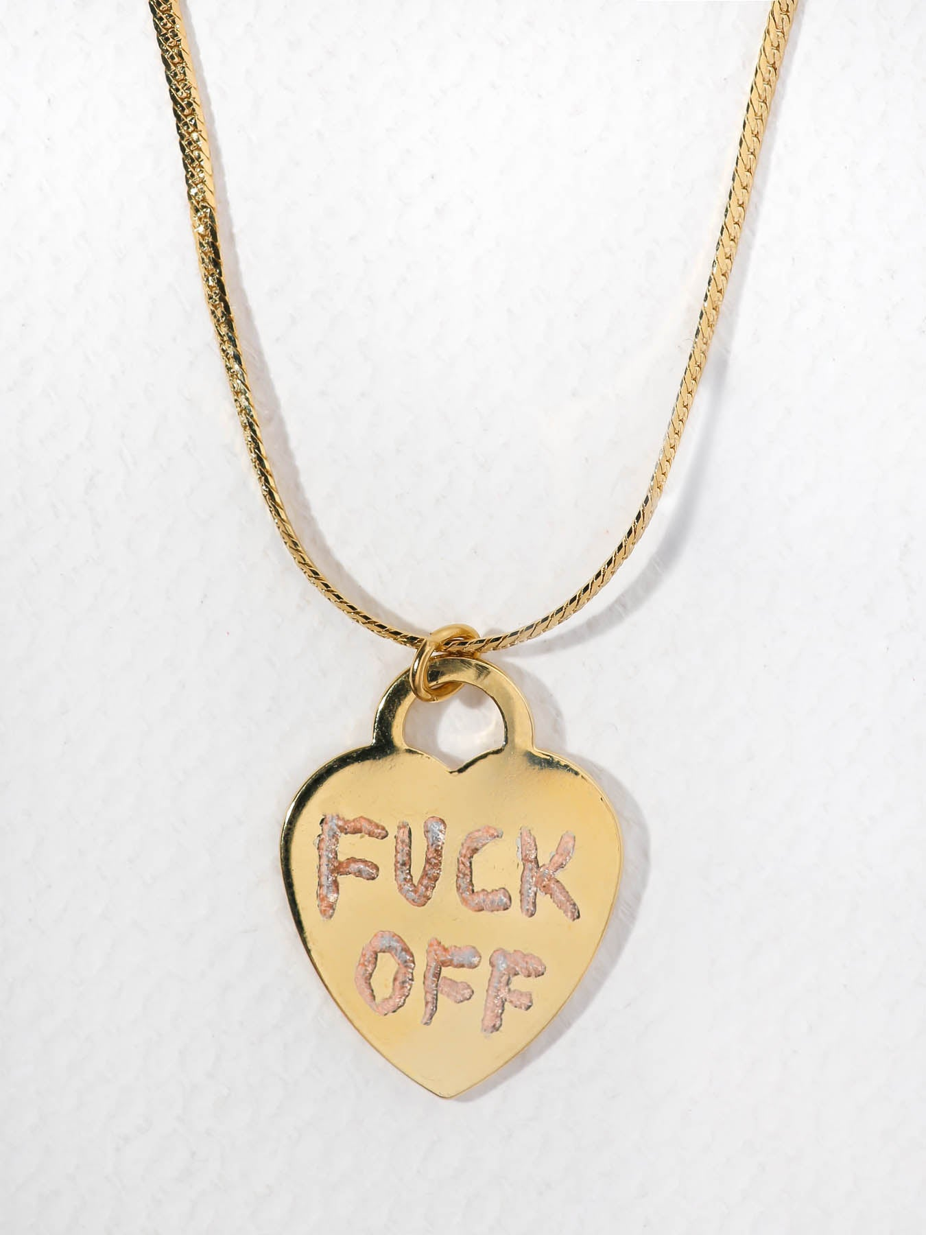 Necklaces The F*ck Off Necklace Vanessa Mooney