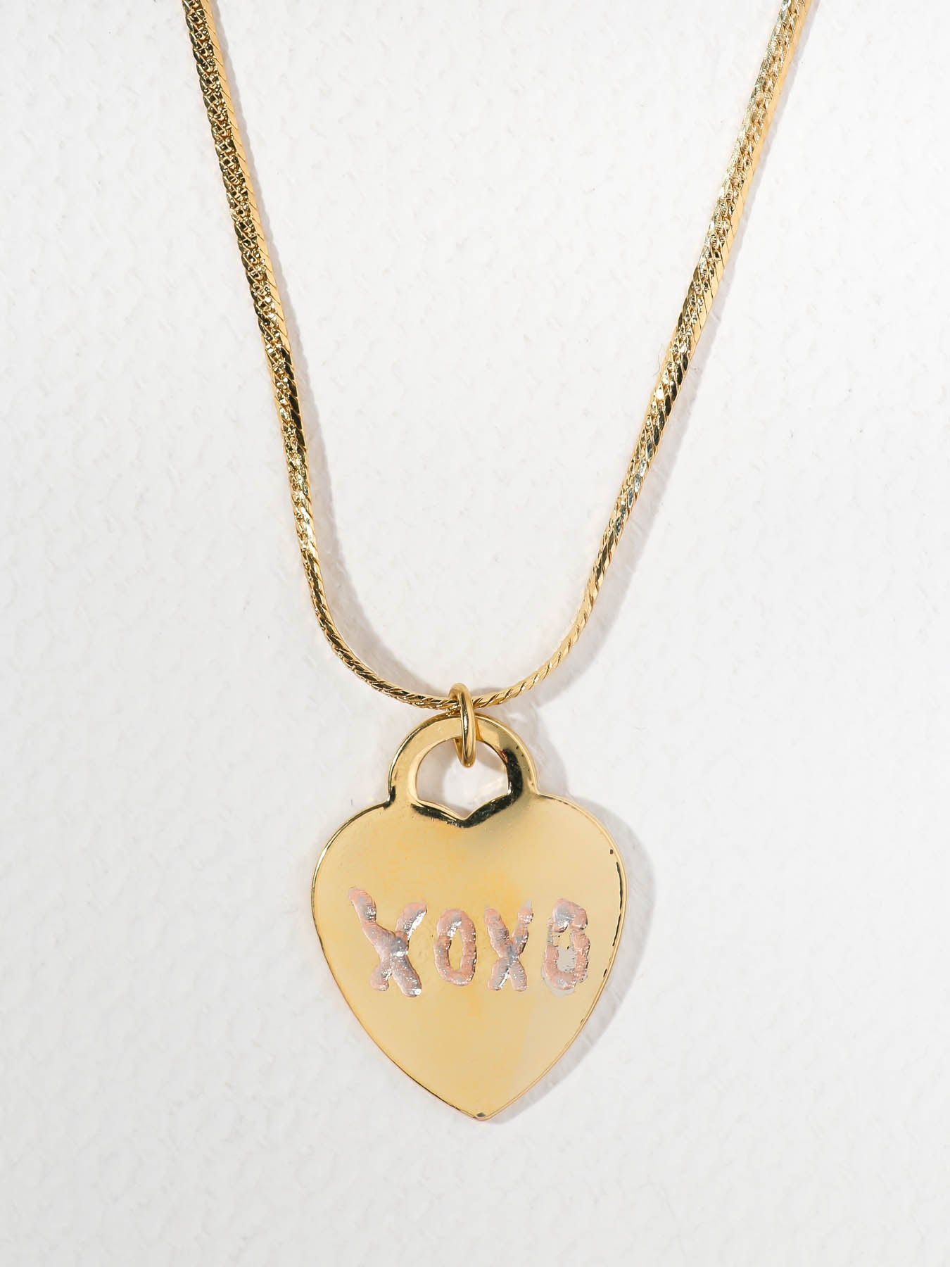 Necklaces The XOXO Heart Necklace Vanessa Mooney
