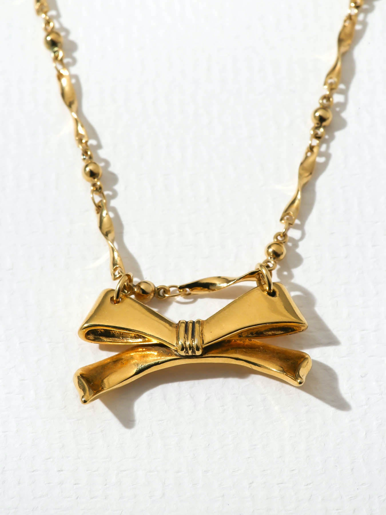 The Bow Tied Necklace