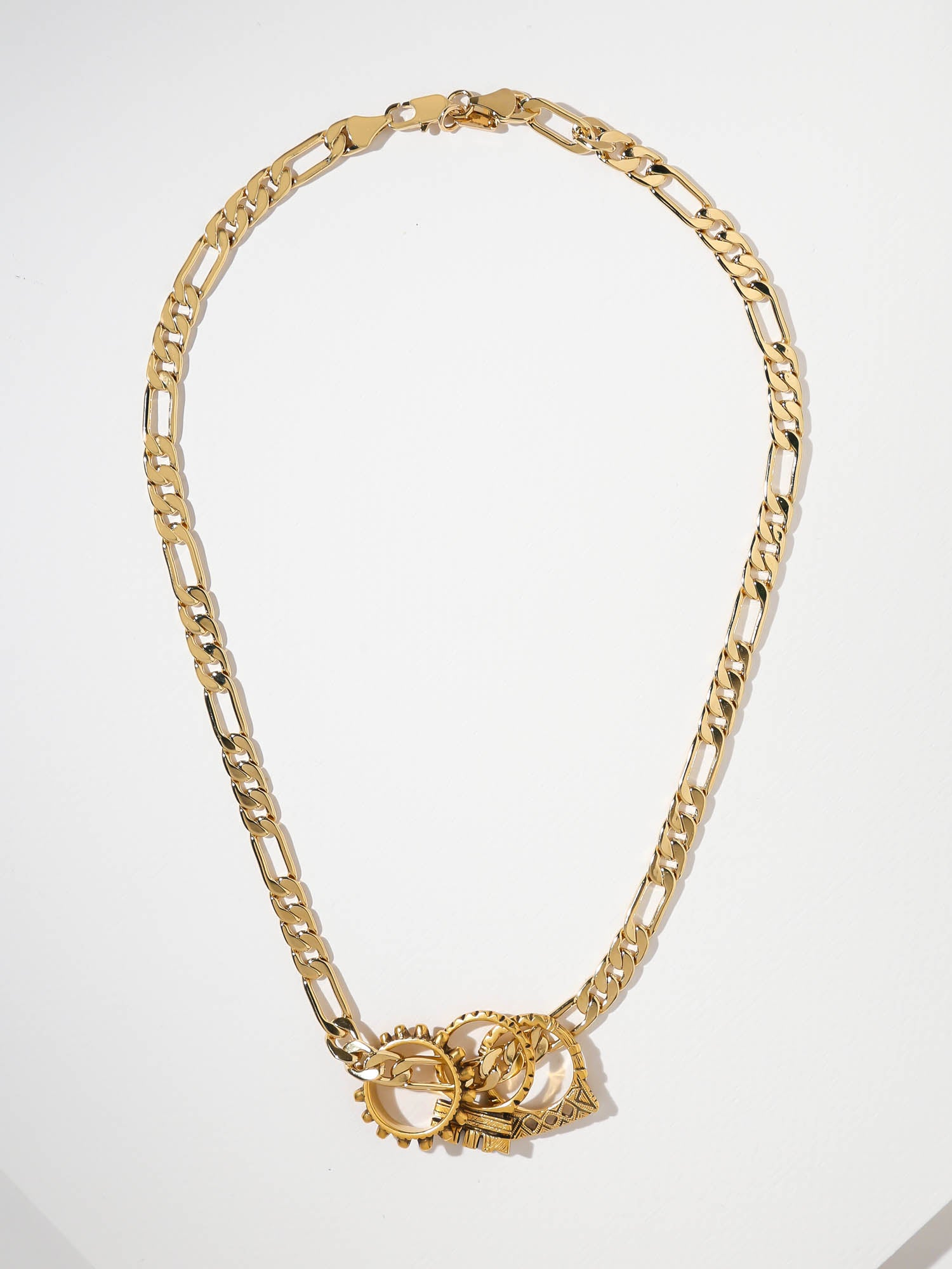 The Tri-Ring Necklace