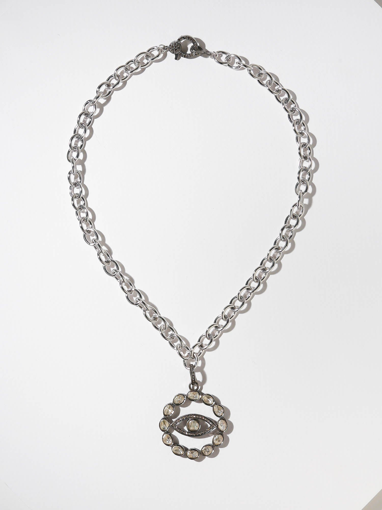The Phoebe Evil Eye Necklace