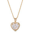 Necklaces The Mini Heart Necklace - Crystal Vanessa Mooney