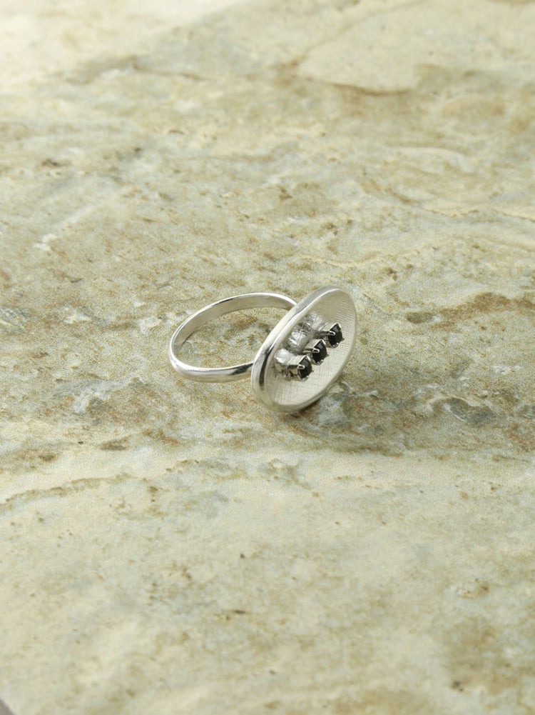 The Silver Dominique Ring