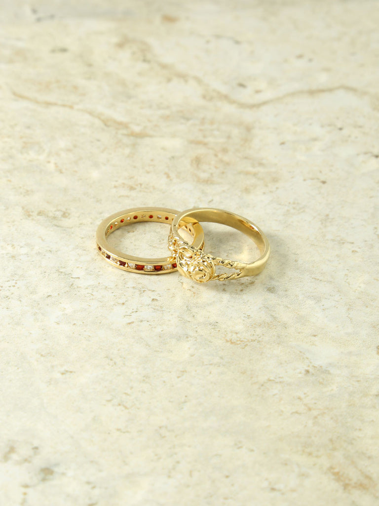 The La Rosa Gold Rings